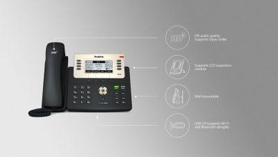 Yealink SIP-T27G Multi-line 6 SIP Accounts IP Phone Kenya