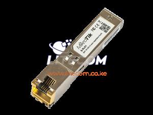 S-RJ01 MikroTik RJ45 SFP Gigabit Copper Module Kenya