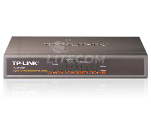 TP-Link TL-SF1008P Unmanaged 8 Port with 4 PoE Out Switch Kenya
