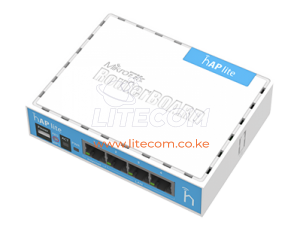 MikroTik RB941-2nD 2.4GHz hAP lite Home Wireless Router/AP Kenya