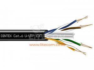 Dintek PowerMAX Exterior Cat.6 U/UTP 23AWG Cable - 1101-04014 Kenya