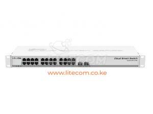MikroTik CSS326-24G-2S+RM Cloud Smart Switch Kenya