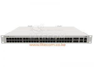 MikroTik CRS354-48G-4S+2Q+RM Cloud Router Switch Kenya